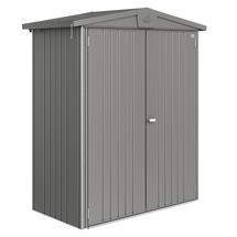 Garden Shed Europa - Size 1 - Metallic Quartz Grey
