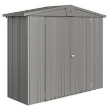Garden Shed Europa - Size 2A - Metallic Quartz Grey