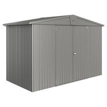 Garden Shed Europa - Size 4A - Metallic Quartz Grey