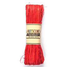 Raffia - Ribbon Red