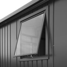 Window unit for Europa metallic dark grey