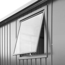 Window unit for Europa metallic quartz grey