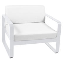 Bellevie Outdoor Armchair - Cotton White/Off White