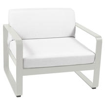 Bellevie Outdoor Armchair - Clay Grey/Off White