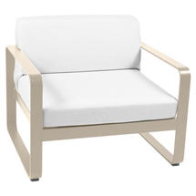 Bellevie Outdoor Armchair - Nutmeg/Off White