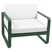 Bellevie Outdoor Armchair - Cedar Green/Off White