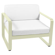 Bellevie Outdoor Armchair - Willow Green/Off White