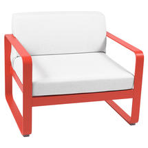 Bellevie Outdoor Armchair - Capucine/Off White