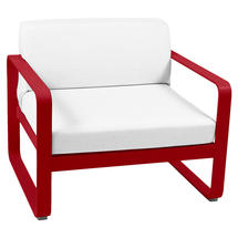 Bellevie Outdoor Armchair - Poppy/Off White