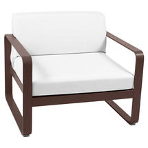 Bellevie Outdoor Armchair - Russet/Off White