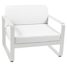 Bellevie Outdoor Armchair - Steel Grey/Off White