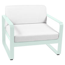 Bellevie Outdoor Armchair - Ice Mint/Off White