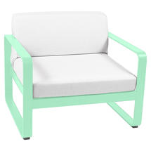 Bellevie Outdoor Armchair - Opaline Green/Off White