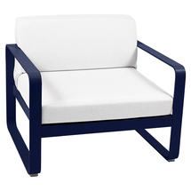 Bellevie Outdoor Armchair - Deep Blue/Off White