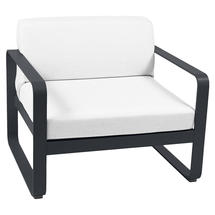 Bellevie Outdoor Armchair - Anthracite/Off White