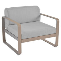 Bellevie Outdoor Armchair - Nutmeg/Flannel Grey