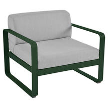 Bellevie Outdoor Armchair - Cedar Green/Flannel Grey