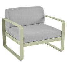 Bellevie Outdoor Armchair - Willow Green/Flannel Grey