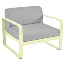 Bellevie Outdoor Armchair - Frosted Lemon/Flannel Grey