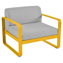 Bellevie Outdoor Armchair - Honey/Flannel Grey