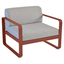 Bellevie Outdoor Armchair - Red Ochre/Flannel Grey