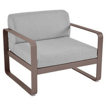 Bellevie Outdoor Armchair - Russet/Flannel Grey