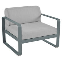 Bellevie Outdoor Armchair - Storm Grey/Flannel Grey