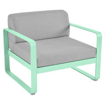 Bellevie Outdoor Armchair - Opaline Green/Flannel Grey