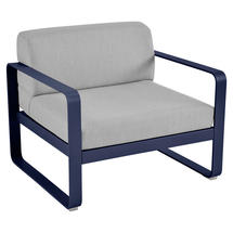 Bellevie Outdoor Armchair - Deep Blue/Flannel Grey