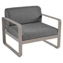 Bellevie Outdoor Armchair - Nutmeg/Graphite Grey