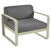 Bellevie Outdoor Armchair - Willow Green/Graphite Grey