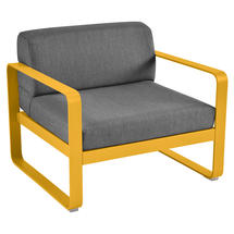 Bellevie Outdoor Armchair - Honey/Graphite Grey