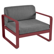 Bellevie Outdoor Armchair - Chilli/Graphite Grey