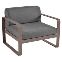 Bellevie Outdoor Armchair - Russet/Graphite Grey