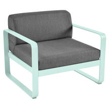 Bellevie Outdoor Armchair - Ice Mint/Graphite Grey