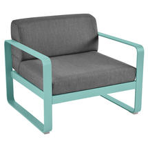 Bellevie Outdoor Armchair - Lagoon Blue/Graphite Grey