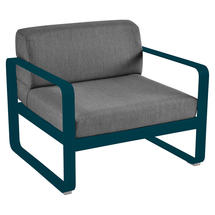 Bellevie Outdoor Armchair - Acapulco Blue/Graphite Grey