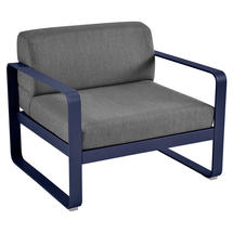 Bellevie Outdoor Armchair - Deep Blue/Graphite Grey