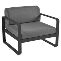 Bellevie Outdoor Armchair - Liquorice/Graphite Grey