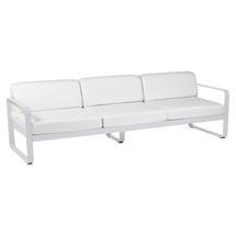 Bellevie Outdoor 3 Seater Sofa - Cotton White/Off White