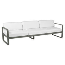 Bellevie Outdoor 3 Seater Sofa - Rosemary/Off White