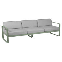 Bellevie Outdoor 3 Seater Sofa - Cactus/Flannel Grey