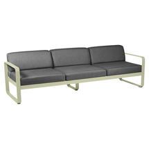 Bellevie Outdoor 3 Seater Sofa - Willow Green/Graphite Grey