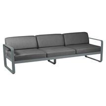Bellevie Outdoor 3 Seater Sofa - Storm Grey/Graphite Grey