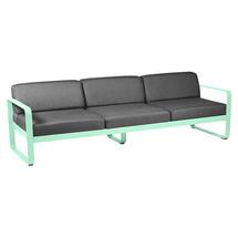 Bellevie Outdoor 3 Seater Sofa - Opaline Green/Graphite Grey