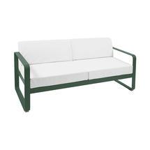 Bellevie Outdoor 2 Seater Sofa - Cedar Green/Off White