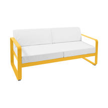 Bellevie Outdoor 2 Seater Sofa - Honey/Off White