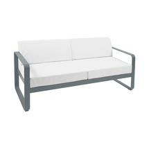 Bellevie Outdoor 2 Seater Sofa - Storm Grey/Off White