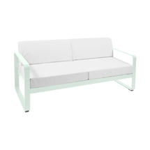 Bellevie Outdoor 2 Seater Sofa - Ice Mint/Off White