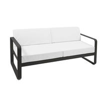 Bellevie Outdoor 2 Seater Sofa - Liquorice/Off White